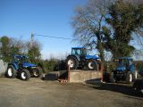 New Holland TM155 & TM140 & Ford 7840 - February 2013