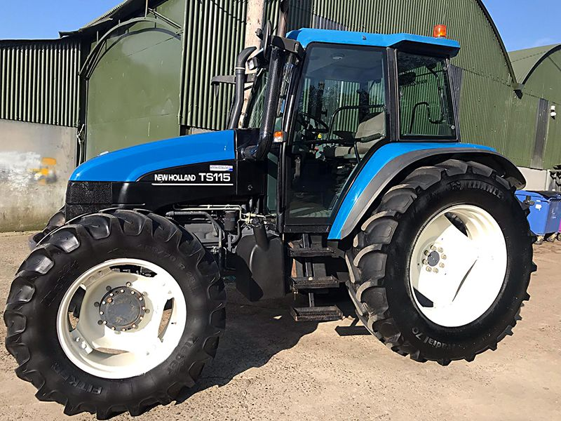 2000 / 01 New Holland TS115 for sale